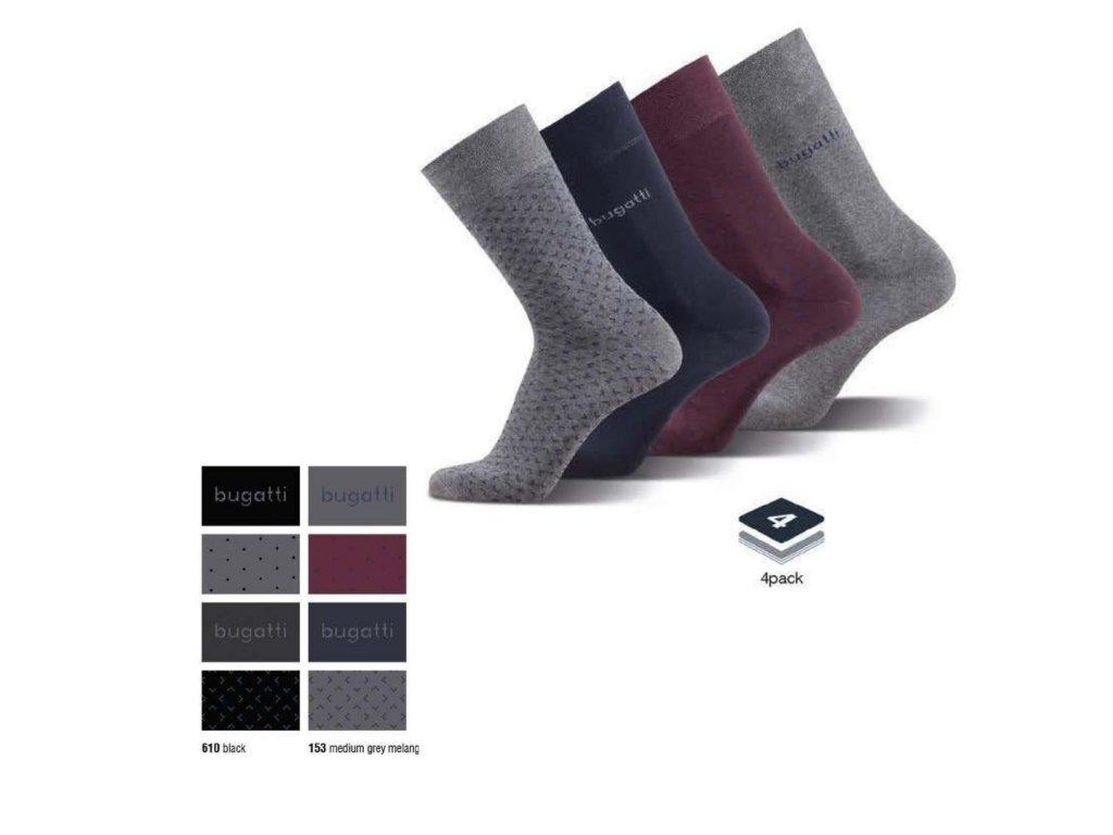 Pánské ponožky BUGATTI 6995