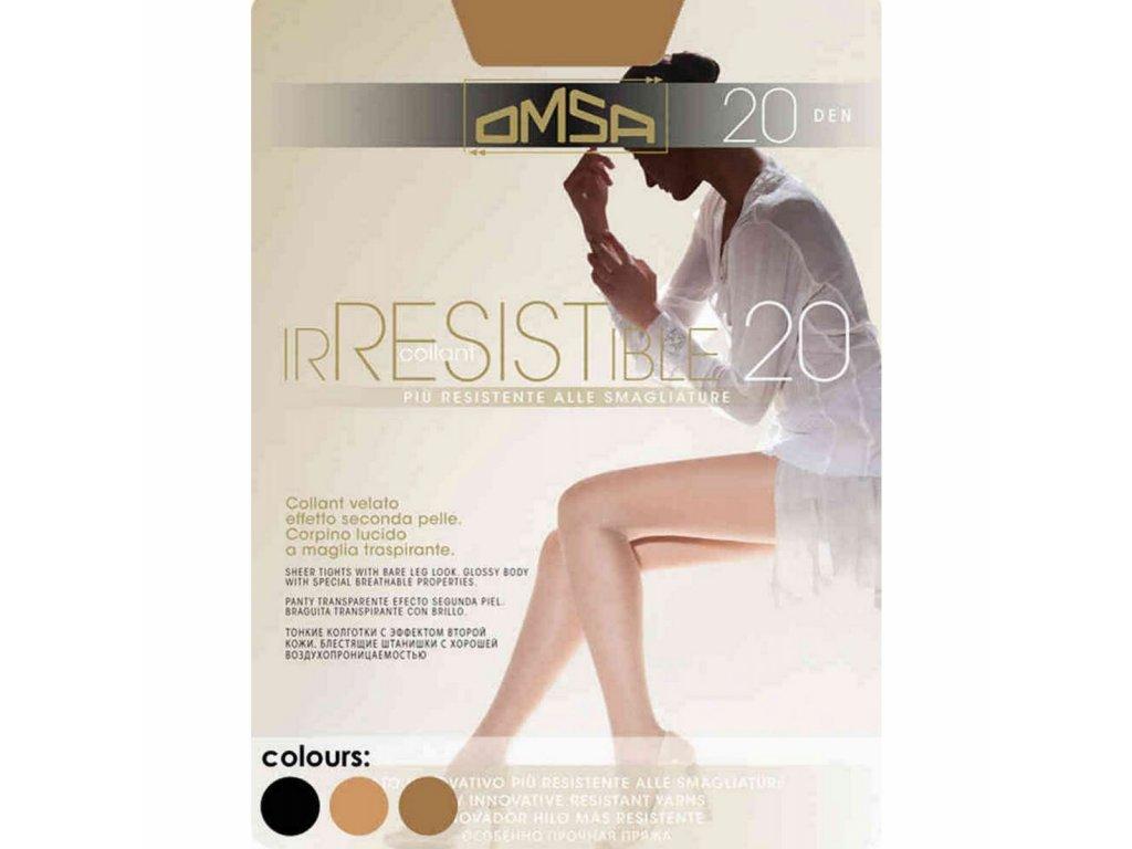 IRRESISTIBLE 4016/20 DEN neparatelné punčochové kalhoty