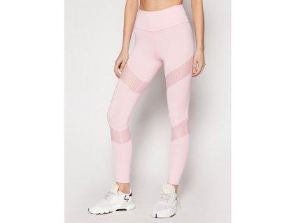 guess legginsy o1ga16 mc03w rozowy slim fit