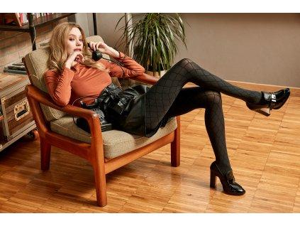SISI Fishnet 1657 punčochové kalhoty