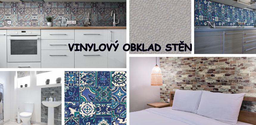 Vinylový obklad stěn Ceramics