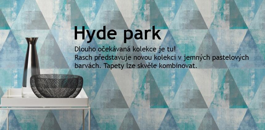 Nová kolekce Hyde park od Rasch, Německá výroba