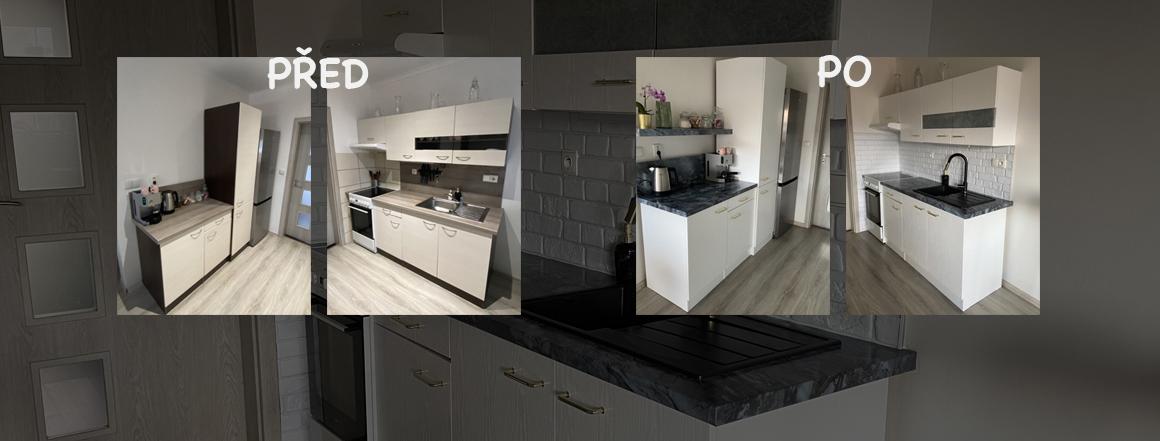 Renovace kuchyně za pomocí samolepicích fólií d-c-fix