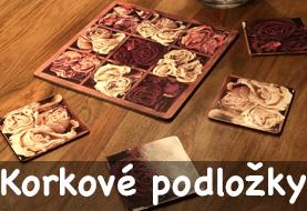 Korkové podložky na stůl