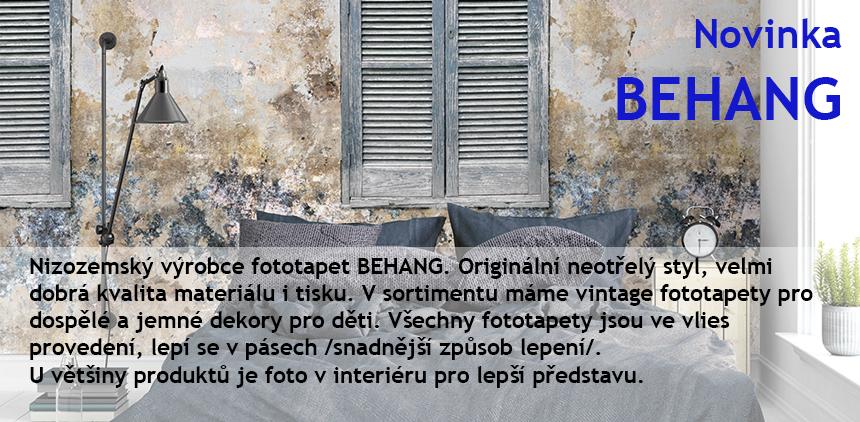 Behang nizozemský výrobce tapet a fototapet