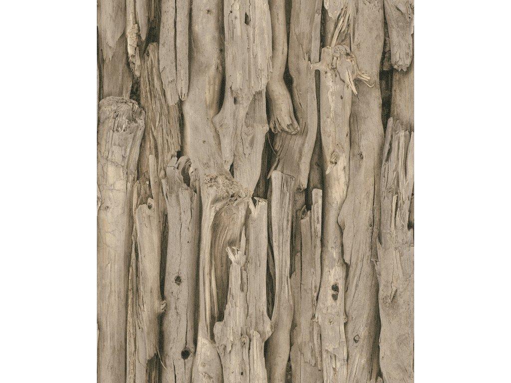 Vliesová tapeta na zeď Rasch 473216, kolekce African Queen II, styl přírodní, 0,53 x 10,05 m