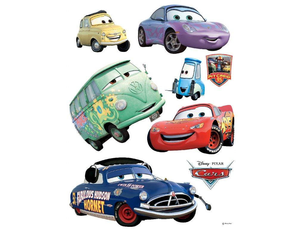 DK851 Samolepicí dekorace CARS  65 x 85 cm