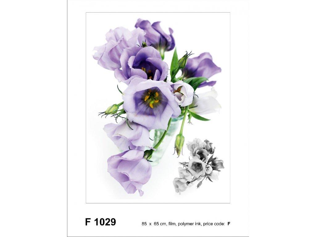 F1029 Samolepicí dekorace ROSES 65 x 85 cm