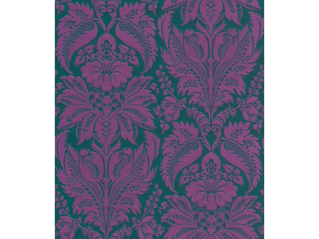 Luxusní tapeta na zeď ETRO 517644, kolekce ETRO, styl klasický, květinový, 0,7 x 10,05 m