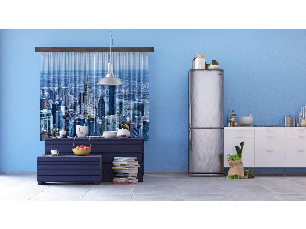 Textilní závěs TOWN FCSXL4815, 180 x 160 cm (2 ks), lehké zastínění