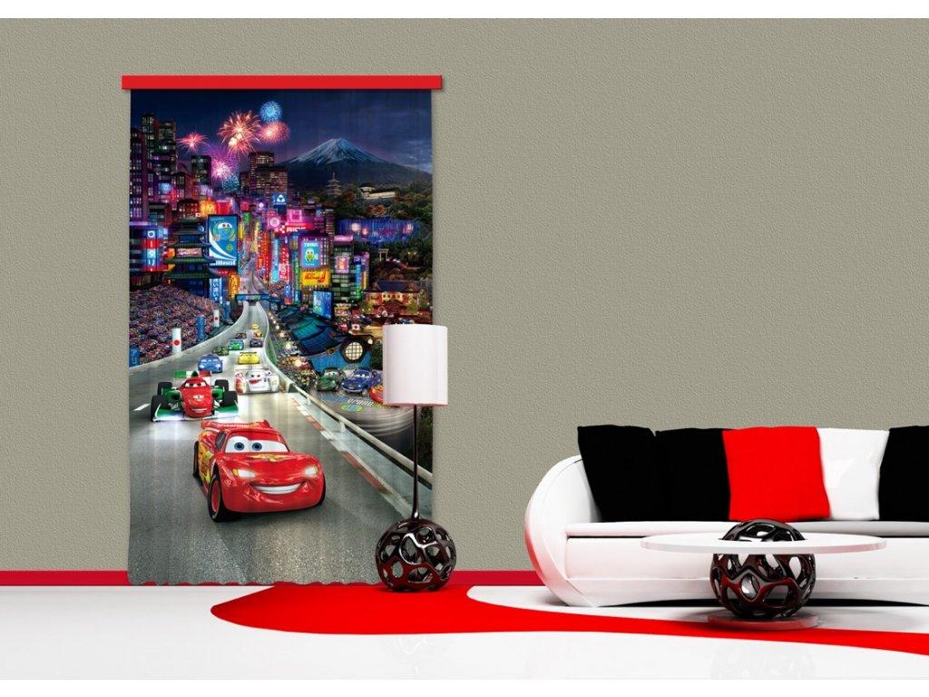 Textilní závěs CARS FCPL6100, 140 x 245 cm (1 ks), úplné zastínění