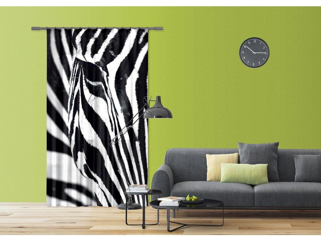 Textilní závěs ZEBRA FCSL7519, 140 x 245 cm (1 ks), lehké zastínění