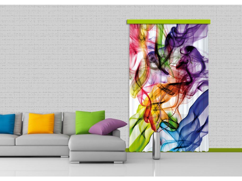 Textilní závěs COLORED SMOKE FCPL6514, 140 x 245 cm (1 ks), úplné zastínění