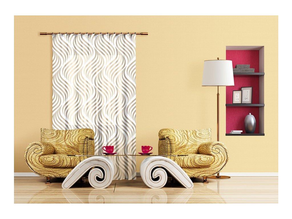 Textilní závěs CREATIVE FCPL6532, 140 x 245 cm (1 ks), úplné zastínění