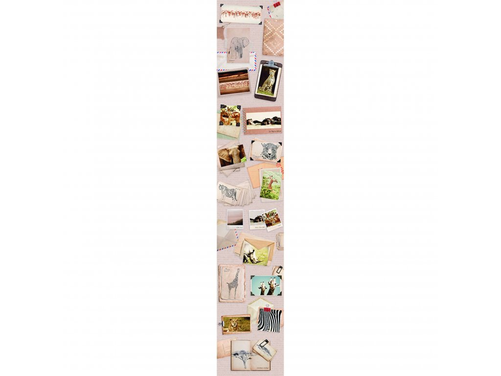Papírový panel Caselio 67181009, kolekce ACCENT, materiál papír, styl moderní 50 x 280 cm