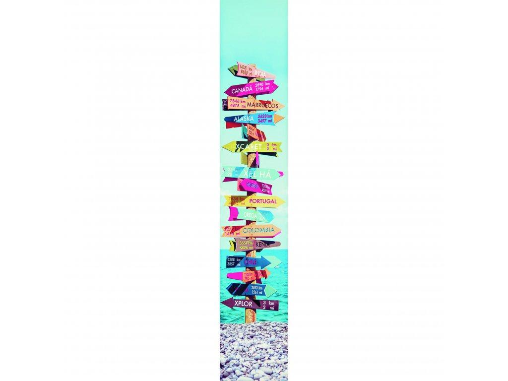 Vliesový panel Caselio 67075836, kolekce ACCENT, materiál vlies, styl moderní 50 x 280 cm