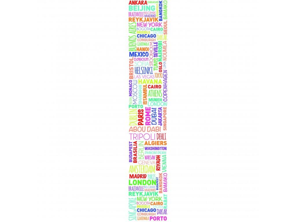 Vliesový panel Caselio 67075937, kolekce ACCENT, materiál vlies, styl moderní 50 x 280 cm