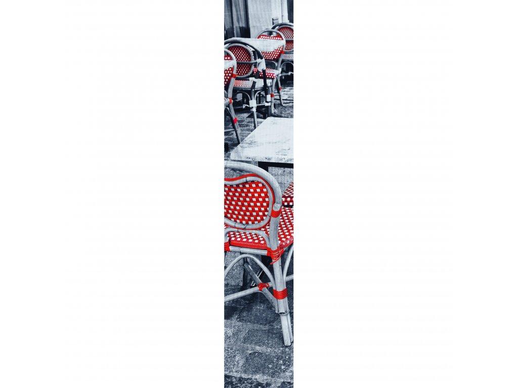 Vliesový panel Caselio 67078088, kolekce ACCENT, materiál vlies, styl moderní 50 x 280 cm