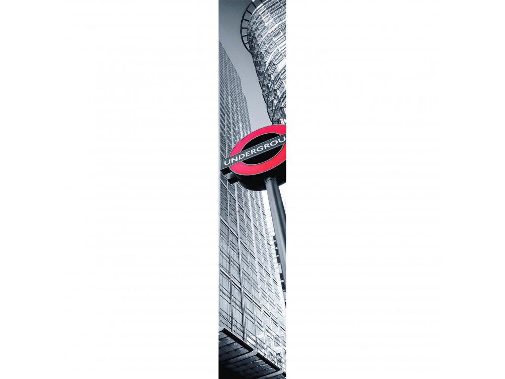 Vliesový panel Caselio 67079286, kolekce ACCENT, materiál vlies, styl moderní 50 x 280 cm