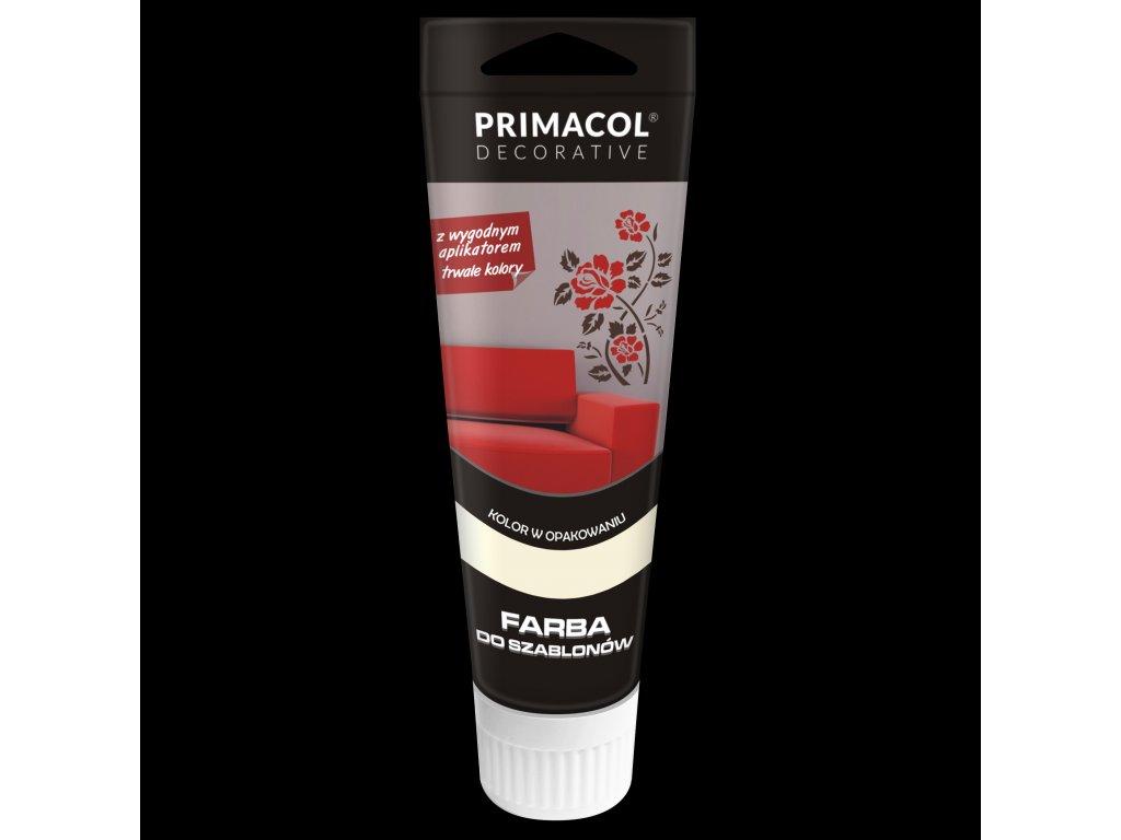 Primacol Barva na šablony bílá BAR21831, 75 ml