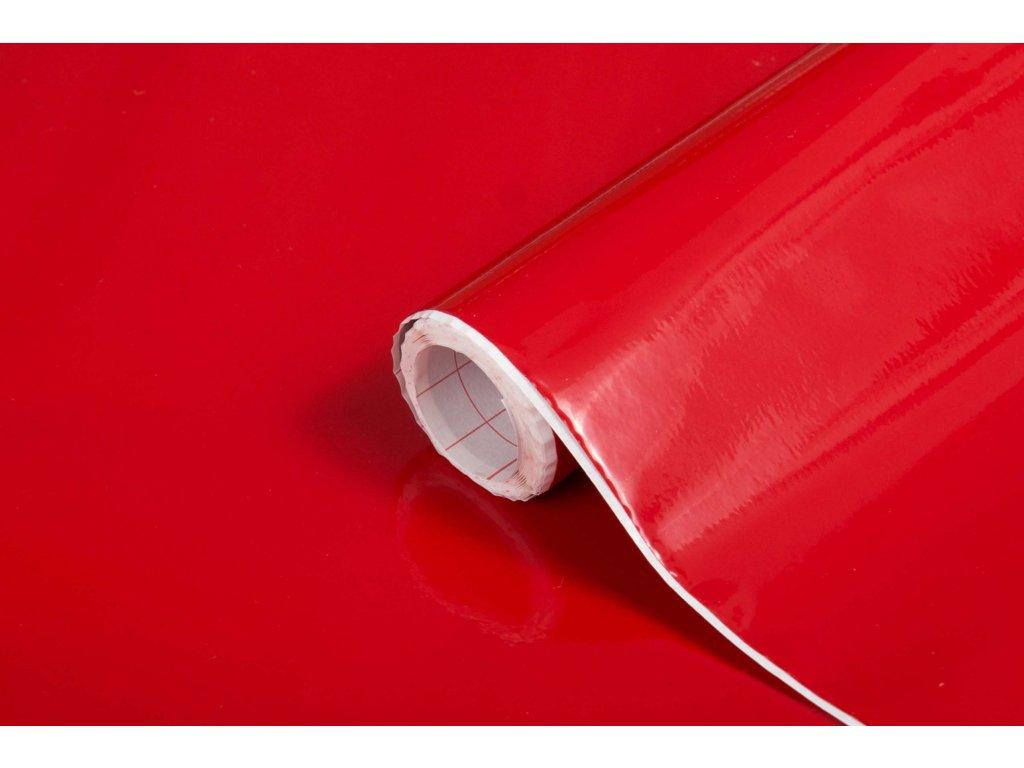 Samolepicí fólie d-c-fix lesklá červená 200-1274, šířka: 45 cm