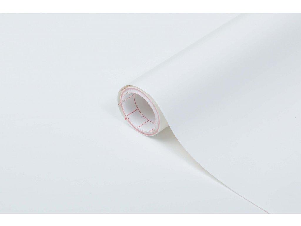 Samolepicí fólie d-c-fix matná bílá