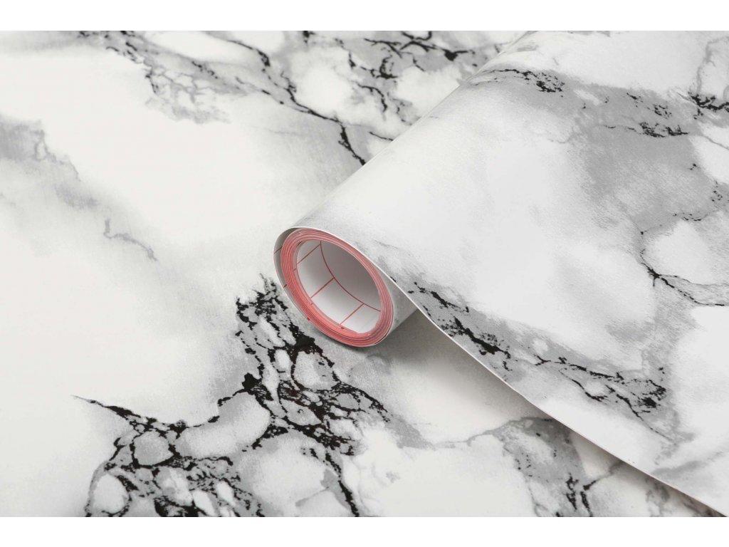 Samolepicí fólie d-c-fix mramor bílý
