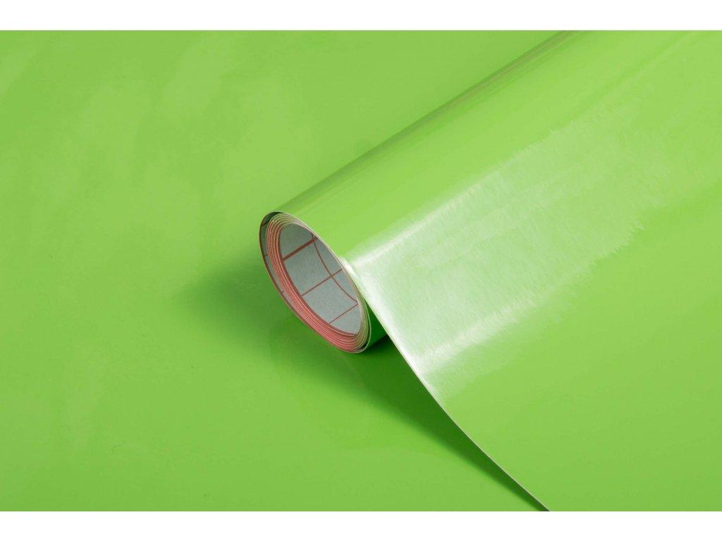 Samolepicí fólie d-c-fix lesklá zelená 200-1995, šířka: 45 cm