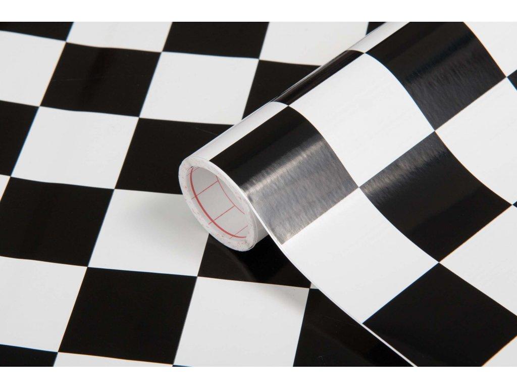 Samolepicí fólie d-c-fix šachovnice klasik 200-2565, ozdobné vzory šířka: 45 cm