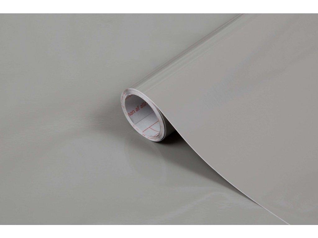Samolepicí fólie d-c-fix lesklá šedá 200-2885, šířka: 45 cm
