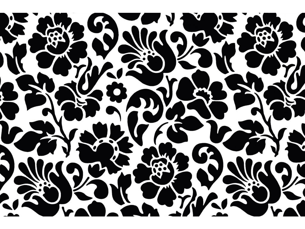 Samolepicí fólie d-c-fix baroko černá 2003098, ozdobné vzory šířka: 45 cm