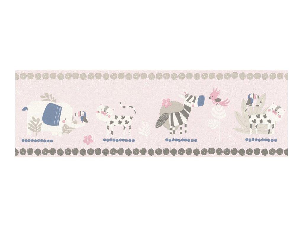 249873 Papírová bordura na zeď Rasch, kolekce Bambino XVIII 17,2 x 500 cm