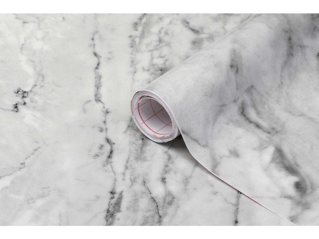 Samolepicí fólie d-c-fix mramor šedočerný