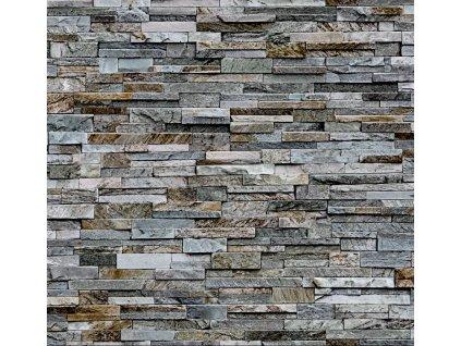 Obklad stěn Ceramics kameny šedé 2700161, 67,5 cm
