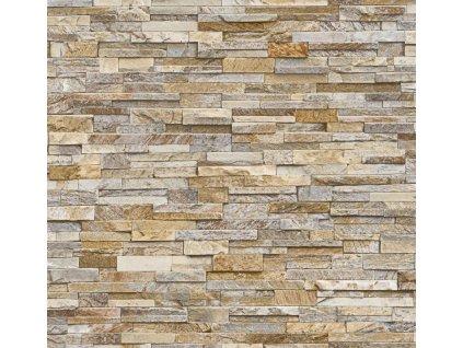 Obklad stěn Ceramics kameny béžové 2700162, 67,5 cm