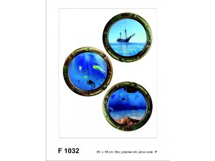 F1032 Samolepicí dekorace ILLUMINATOR 65 x 85 cm
