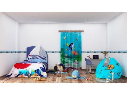 Textilní závěs NEMO FCSL7108, 140 x 245 cm (1 ks), lehké zastínění