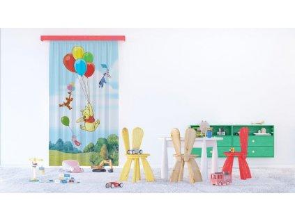 Textilní závěs WINNIE THE POOH FCPL6140, 140 x 245 cm (1 ks), úplné zastínění