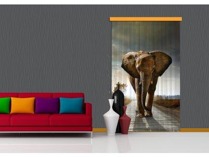 Textilní závěs ELEPHANT FCPL6507, 140 x 245 cm (1 ks), úplné zastínění