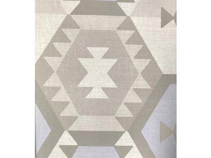 Vliesová tapeta na zeď Rasch 736175, kolekce ALDORA, styl grafický, 0,53 x 10,05 m