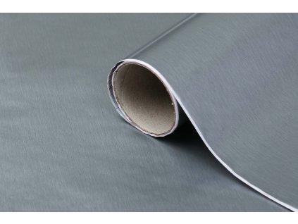 Samolepicí fólie d-c-fix broušený hliník 210-0045, kovové šířka: 45 cm