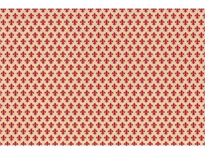 Samolepicí fólie d-c-fix zámecká červená 2002058, ozdobné vzory šířka: 45 cm