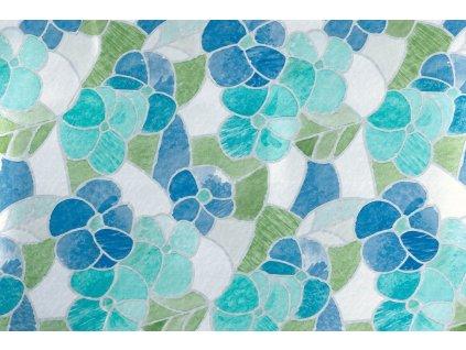 Samolepicí fólie d-c-fix květy modré 200-2665, transparent šířka: 45 cm