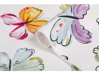 Samolepicí fólie d-c-fix motýli 200-2940, ozdobné vzory šířka: 45 cm