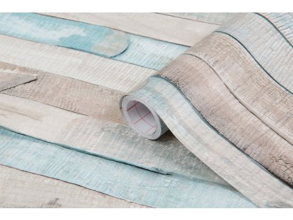 Samolepicí fólie d-c-fix barevná prkna 200-3228, ozdobné vzory šířka: 45 cm