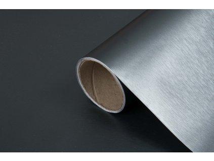 Samolepicí fólie metalic platino 202-1207, kovové šířka: 45 cm