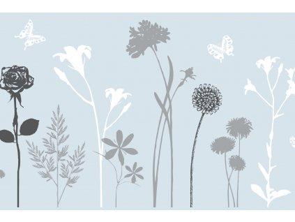 Statická fólie d-c-fix blossom 216-0021, transparent šířka: 45 cm