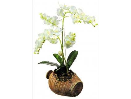 SM3430 Samolepicí dekorace Orchidej, 42,5 x 65 cm