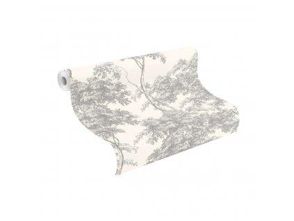 Papírová tapeta Rasch 214307, kolekce Sansa, 0,53 x 10,05 m