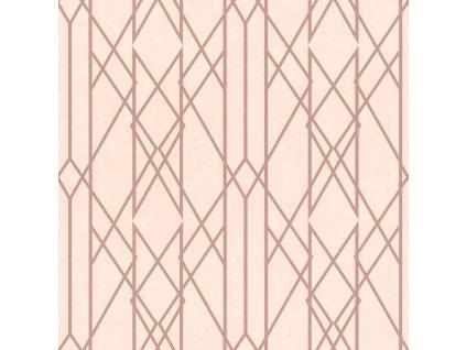 Papírová tapeta Rasch 215106, kolekce Sansa, 0,53 x 10,05 m